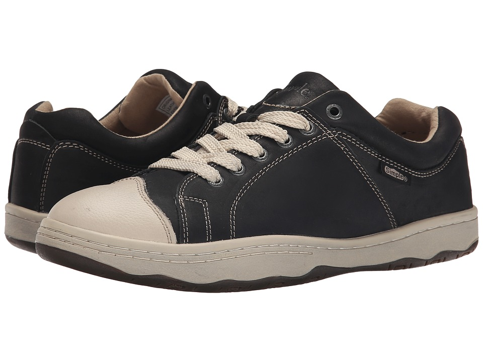 Simple - Original 92 (Black Waxy Milled Leather) Men's Shoes