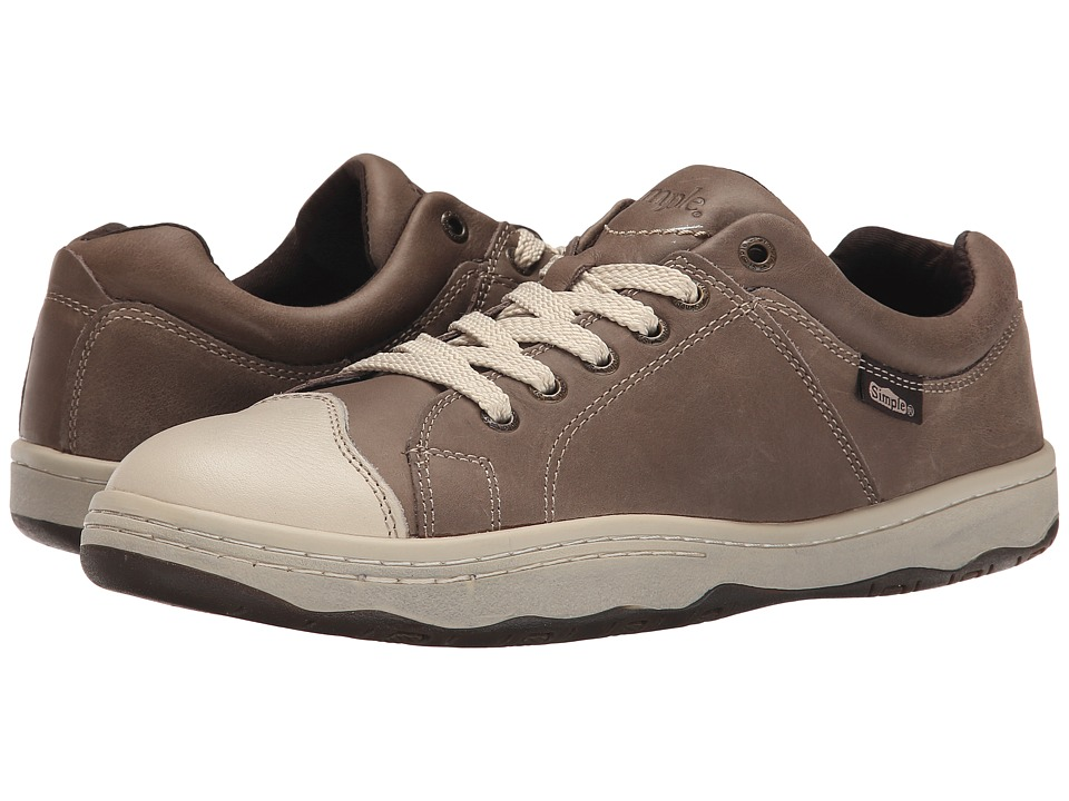 Simple - Original 92 (Coffee Distress Leather) Men's Shoes