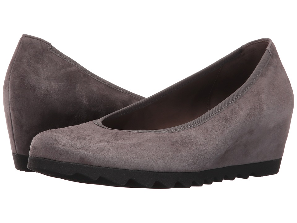 Gabor - Gabor 55.320 (Dark Grey Samtchevreau) Women's 1-2 inch heel Shoes