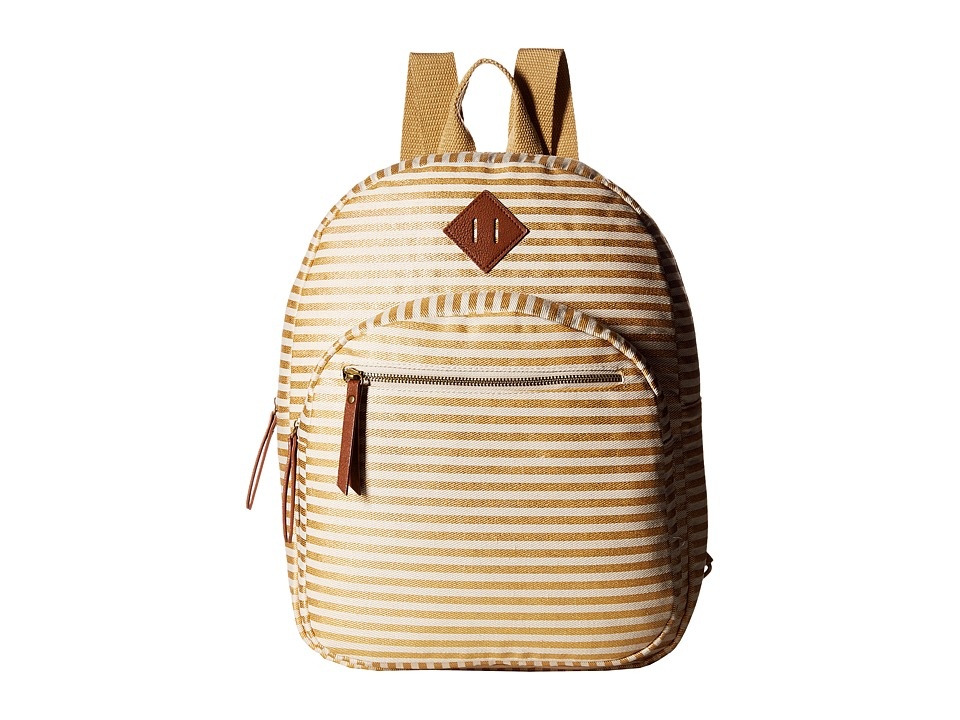 Madden Girl - Mgacadmy Backpack (Gold Stripe) Backpack Bags