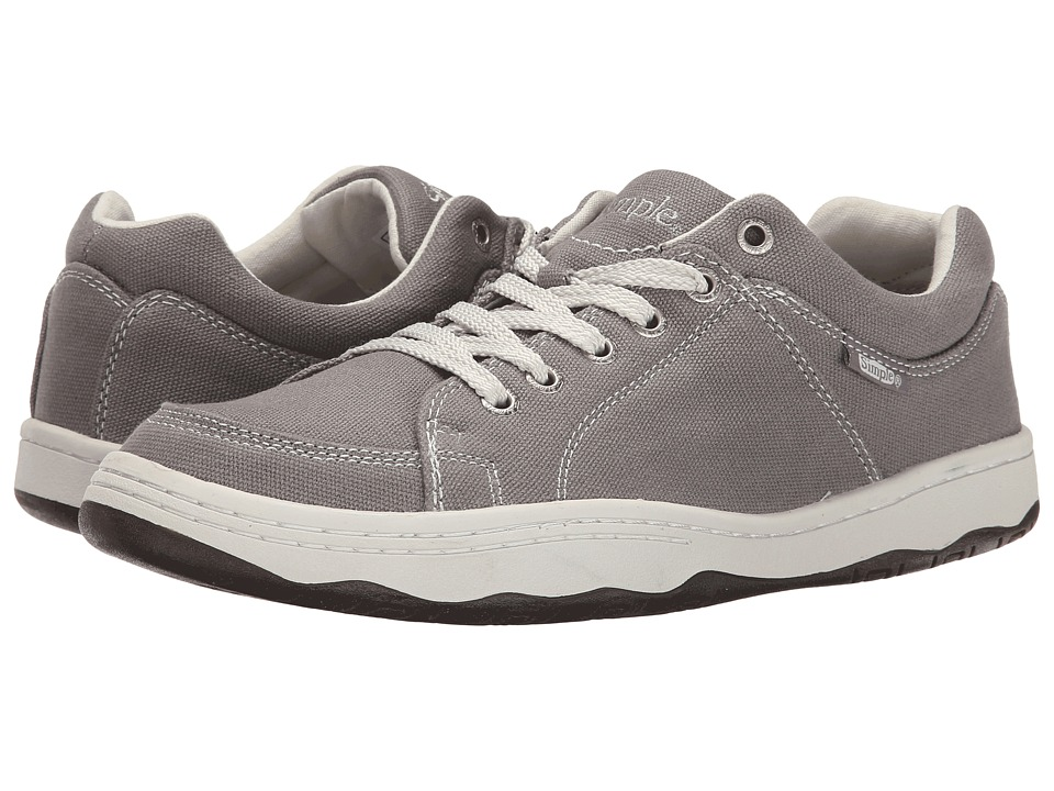 Simple - Pipeline (Stone Grey Canvas) Men's Shoes