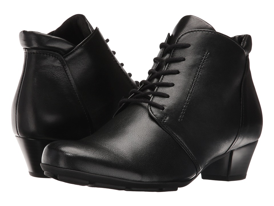 Gabor - Gabor 55.631 (Black Sportylamm) Women's Lace-up Boots