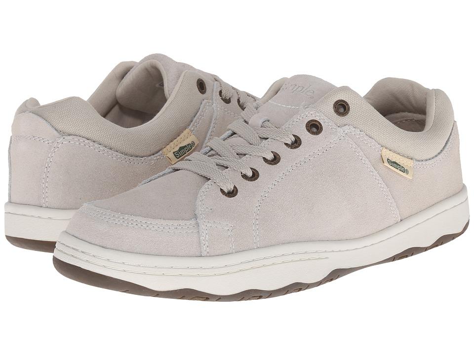 Simple - Pipeline 1 (Chalk Suede) Men's Shoes