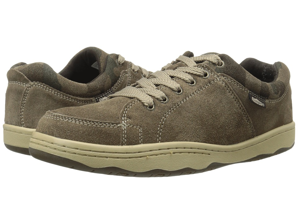 Simple - Pipeline 1 (Smoke Suede) Men's Shoes