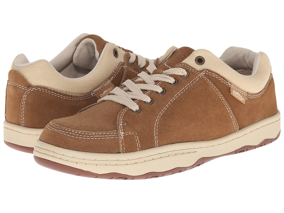 Simple - Pipeline 1 (Taupe Suede) Men's Shoes
