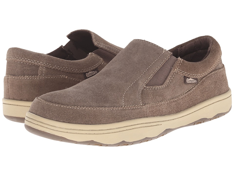 Simple - Post (Smoke Suede) Men's Shoes