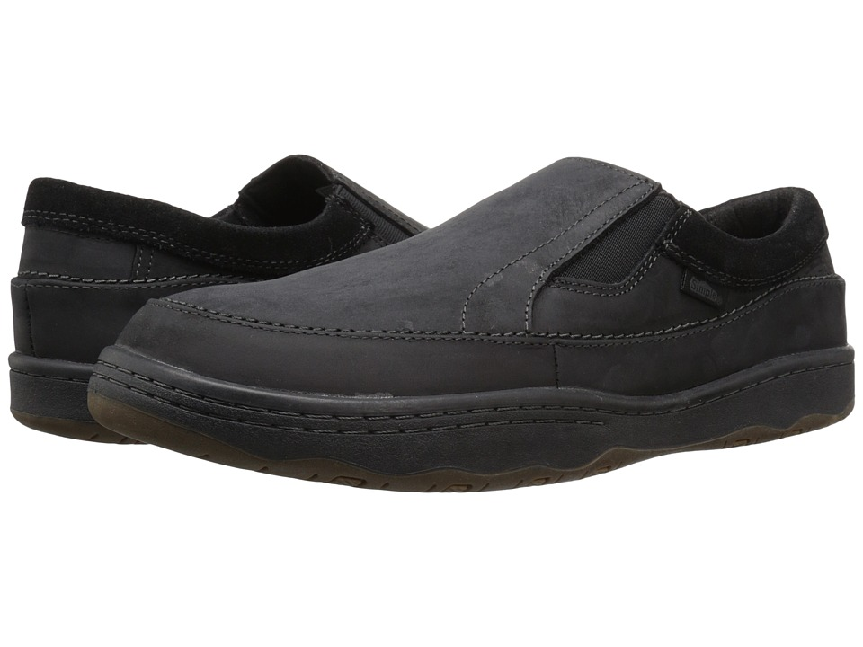 Simple - Post 1 (Black Crazyhorse Leather) Men's Shoes