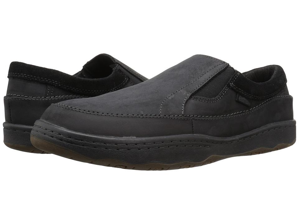 Simple - Post 1 (Black Crazyhorse Leather) Men's Shoes
