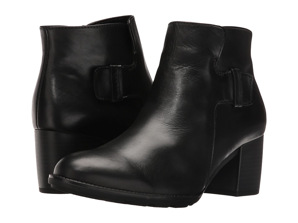 Gabor - Gabor 55.682 (Black Foulard Calf) Women's Pull-on Boots