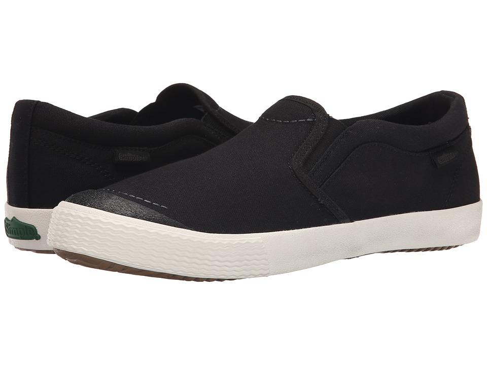 Simple - Windstorm (Black Canvas) Men's Shoes