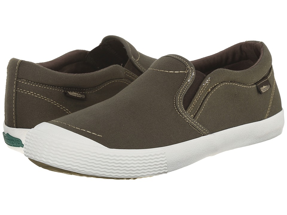 Simple - Windstorm (Olive Canvas) Men's Shoes