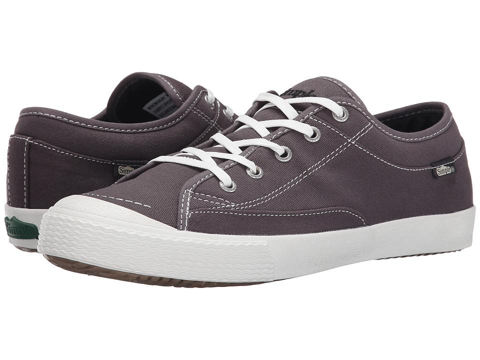 Simple - Wingman (Grey Canvas) Men's Shoes