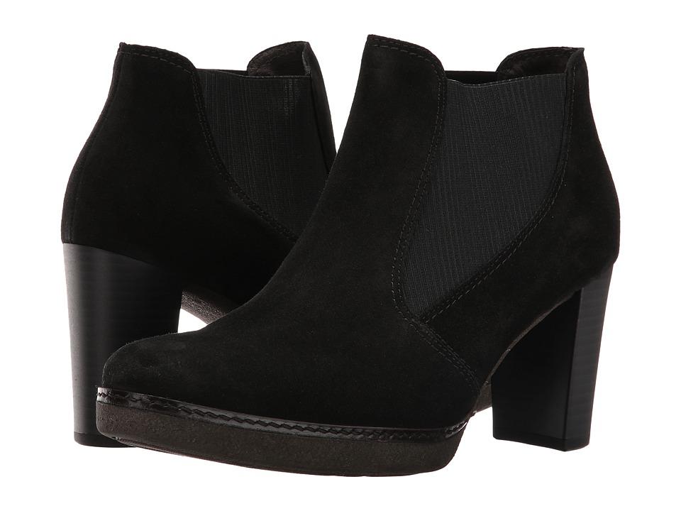 Gabor - Gabor 55.752 (Black Dreamvelour) Women's Pull-on Boots