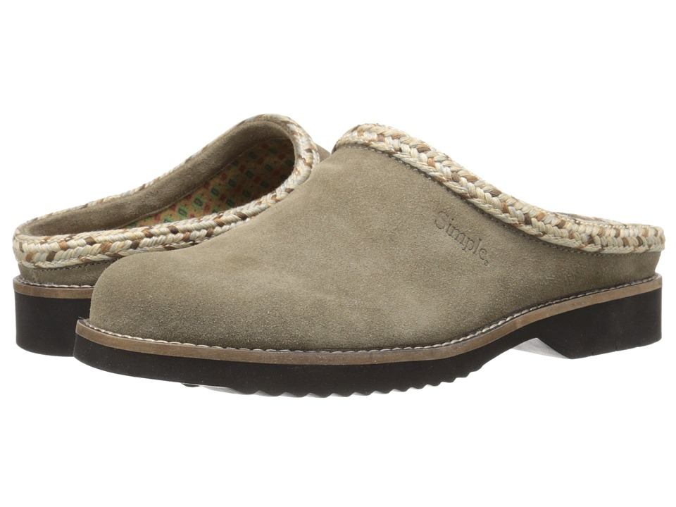 Simple - Hallie (Taupe Suede) Women's Clog Shoes