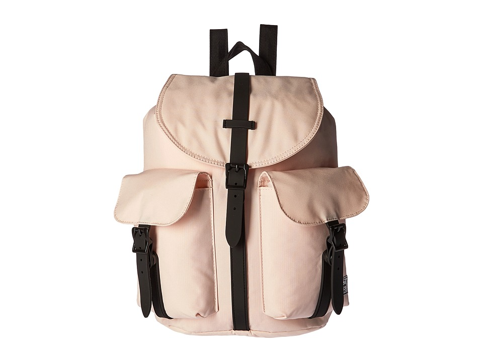 Herschel Supply Co. - Dawson (Cr me De Peche/Black/Black Rubber) Bags
