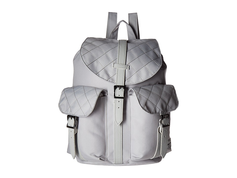 Herschel Supply Co. - Dawson (Lunar Rock Quilted/Lunar Rock Synthetic Leather) Bags