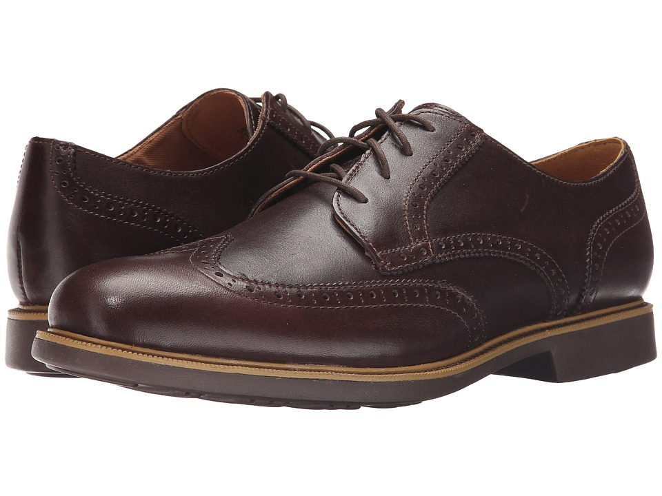 Cole Haan - Great Jones Wingtip (Chestnut) Men