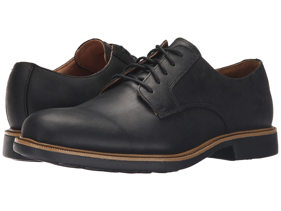 Cole Haan - Great Jones Plain (Black/Black) Men's Lace up casual Shoes