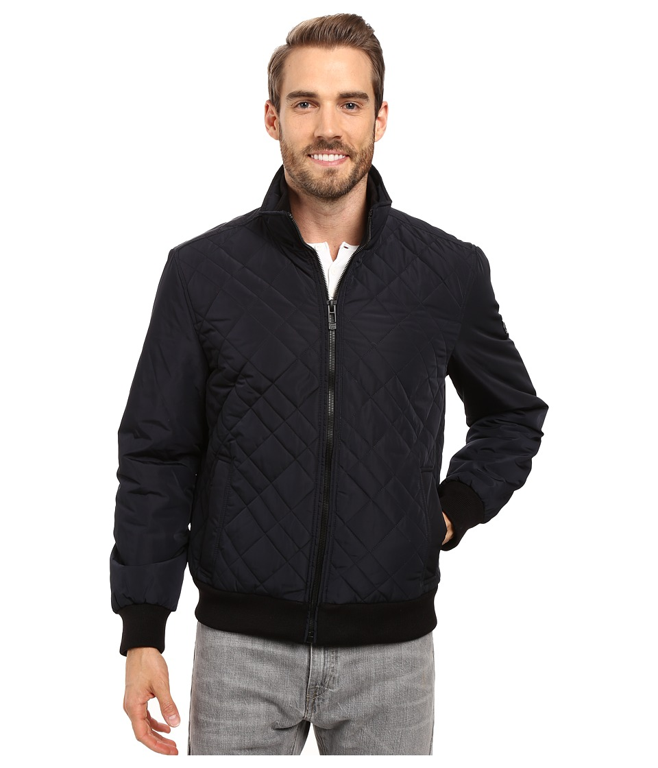 Calvin Klein - Quilted Bomber (Midnight) Men's Coat