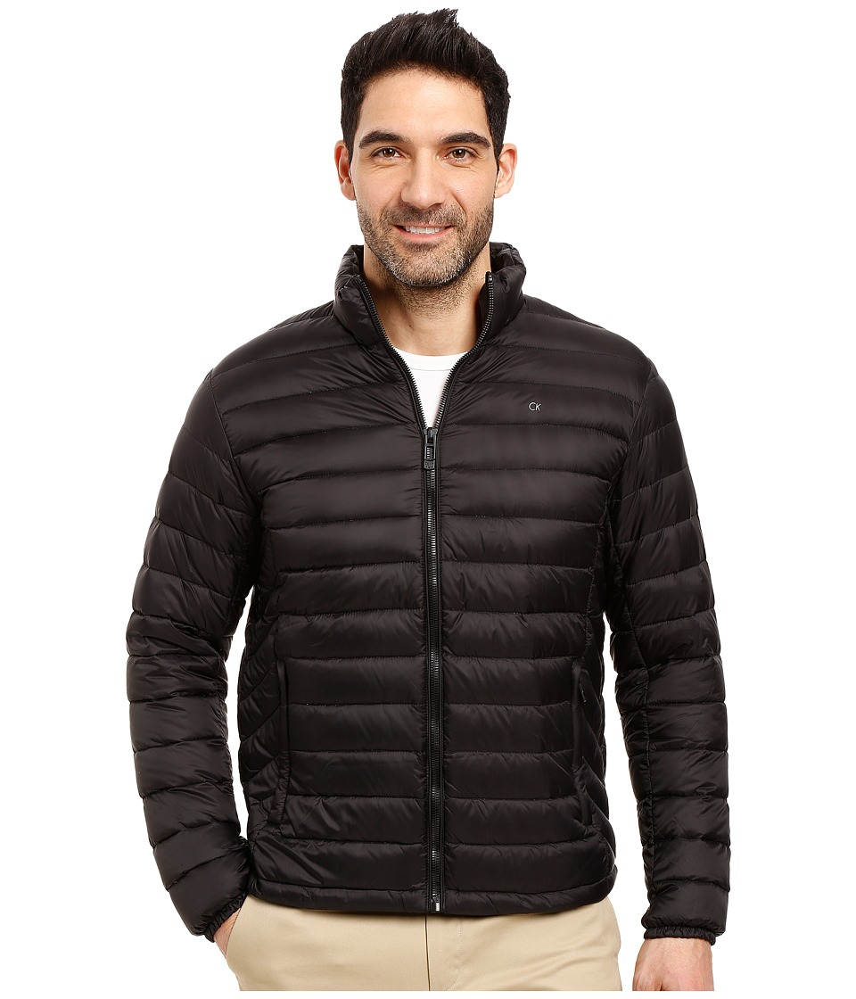 Calvin Klein - Packable Down Jacket (Black) Men's Coat