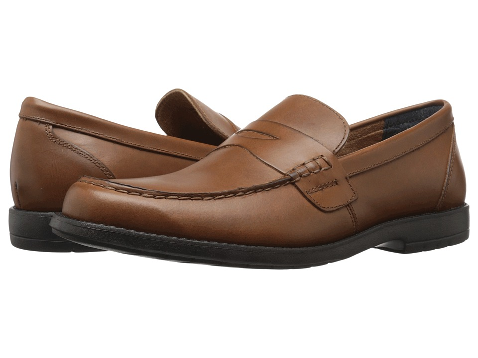 Nunn Bush Appleton Moc Toe Penny Loafer (Saddle Tan) Men