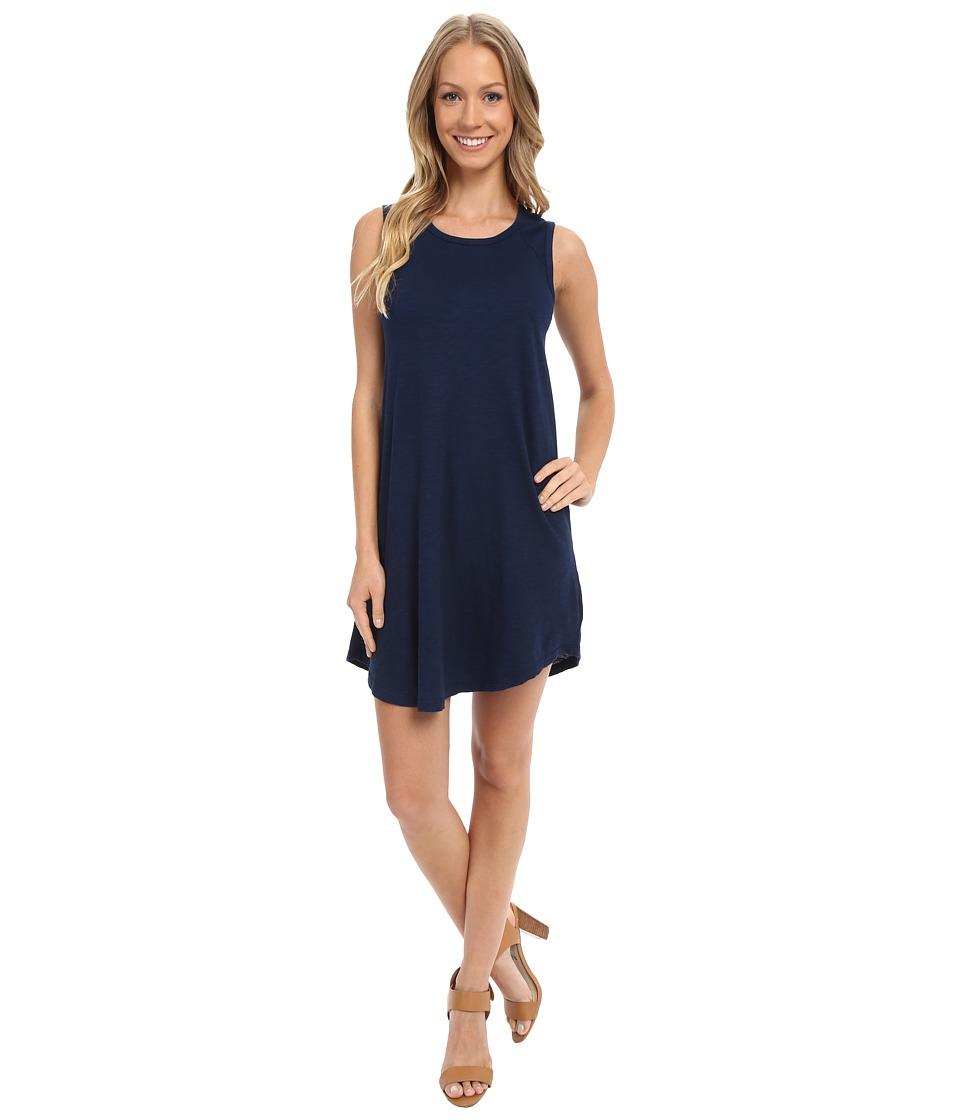 Allen Allen - Raglan Tank Dress (Lapis) Women's Dress