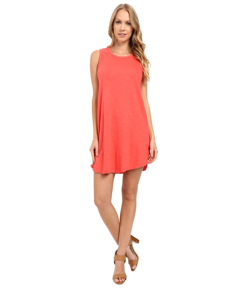 Allen Allen Raglan Tank Dress (Begonia) Women