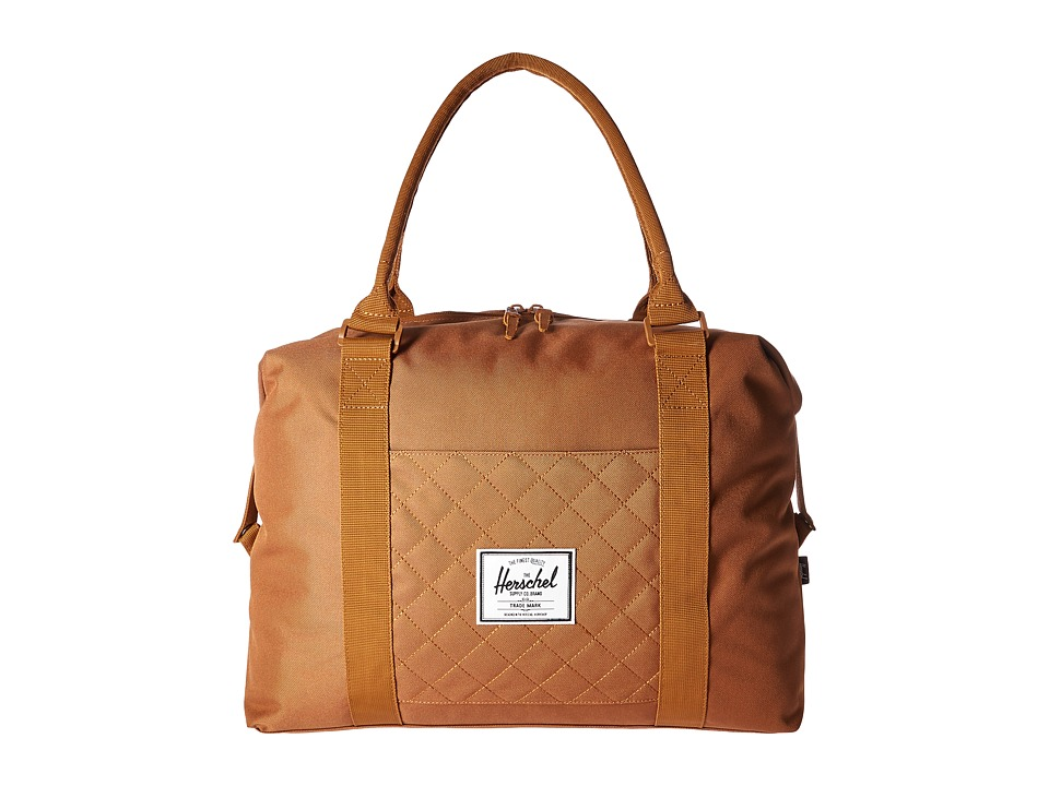 Herschel Supply Co. - Strand (Caramel Quilted) Duffel Bags