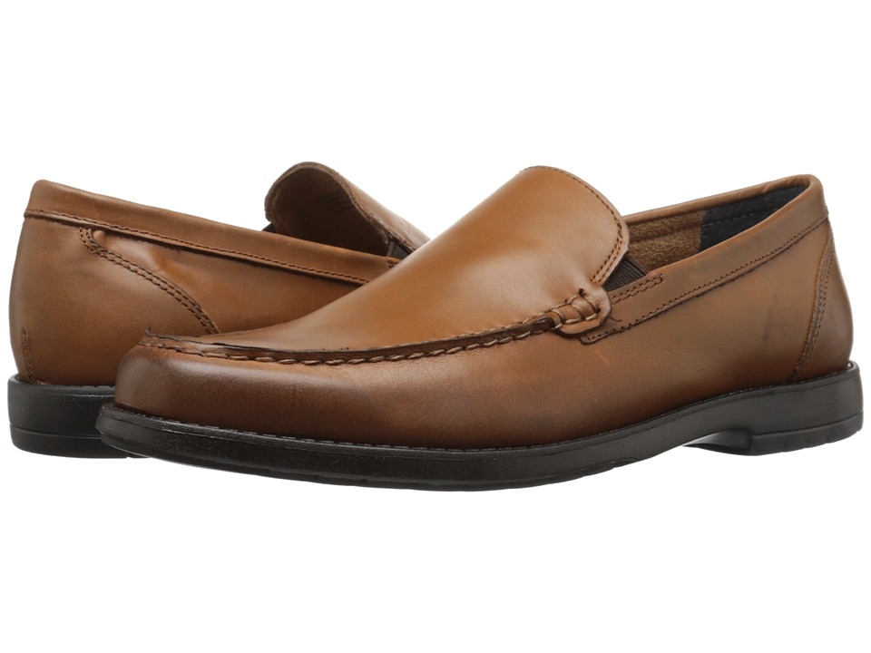 Nunn Bush Arlington Heights Moc Toe Venetian (Saddle Tan) Men