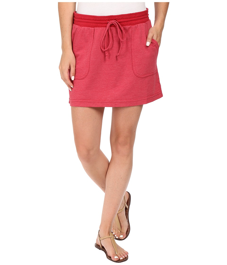 Allen Allen Cargo Short Skirt (Red) Women