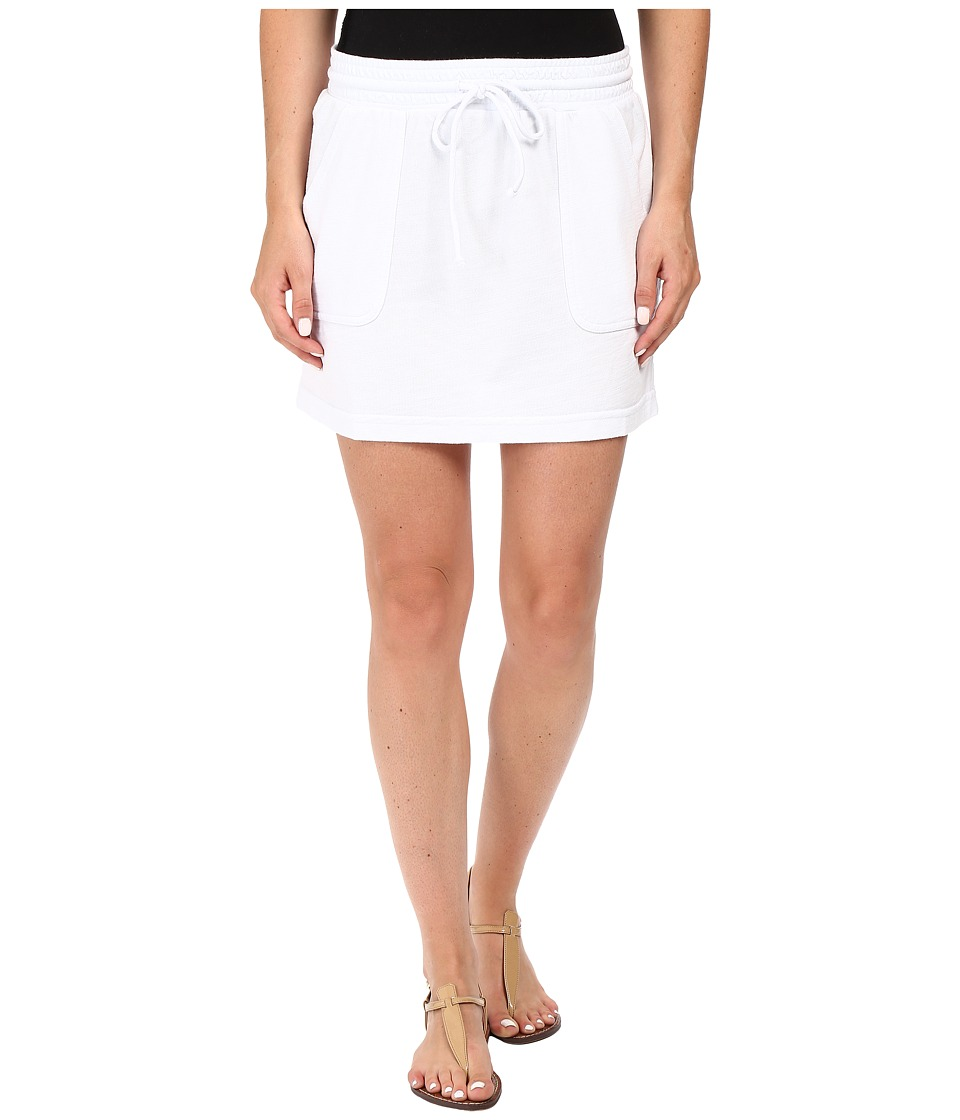 Allen Allen Cargo Short Skirt (White) Women
