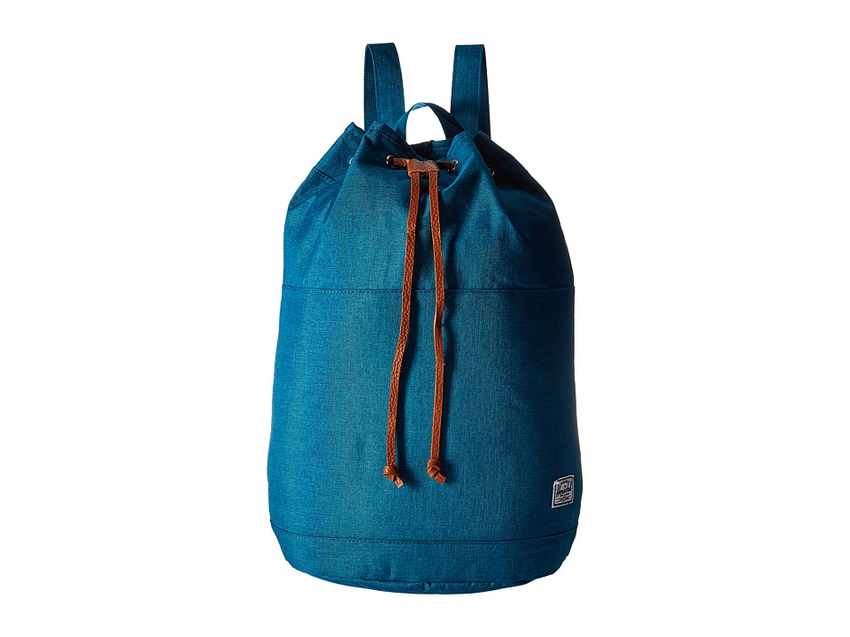 Herschel Supply Co. - Hanson (Petrol Crosshatch) Backpack Bags