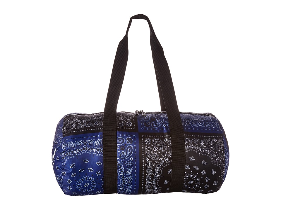Herschel Supply Co. - Packable Duffle (Navy/Black Bandana) Duffel Bags