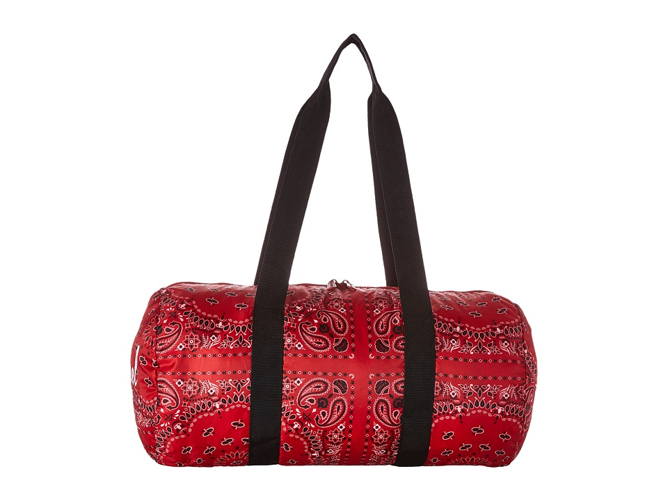 Herschel Supply Co. - Packable Duffle (Red Bandana) Duffel Bags