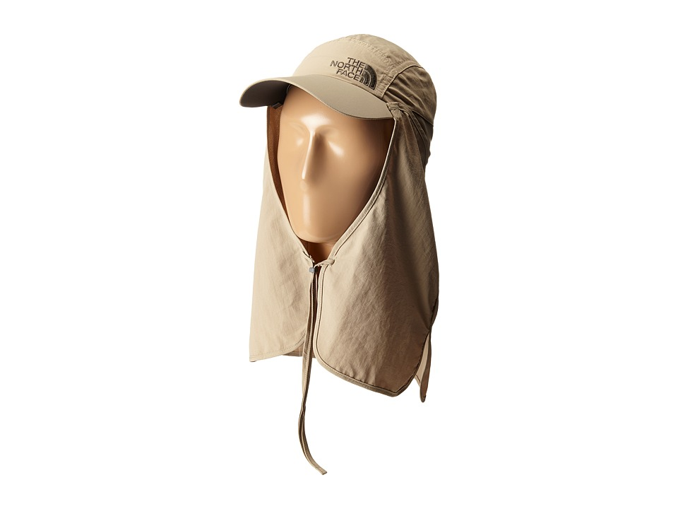 The North Face - Sun Shield Cap (Dune Beige) Caps