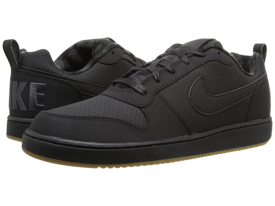Nike - Recreation Low Prem (Black/Anthracite/Gum Light Brown/Black) Men's Basketball Shoes