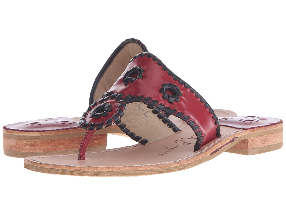 Jack Rogers - Spirit (Garnet/Black) Women's Shoes
