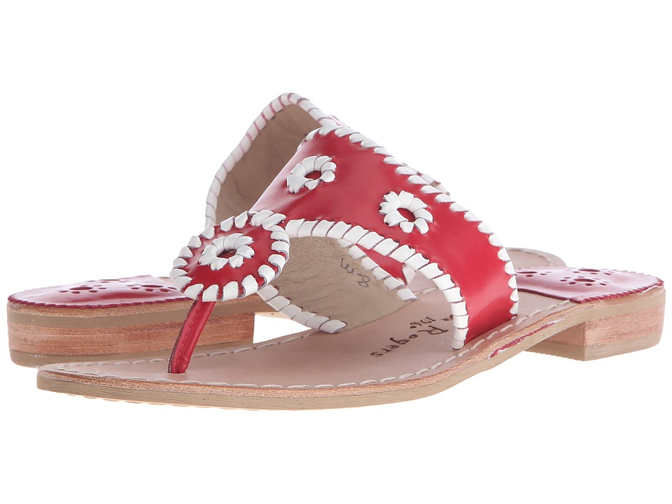 Jack Rogers - Spirit (Red/White) Women's Shoes