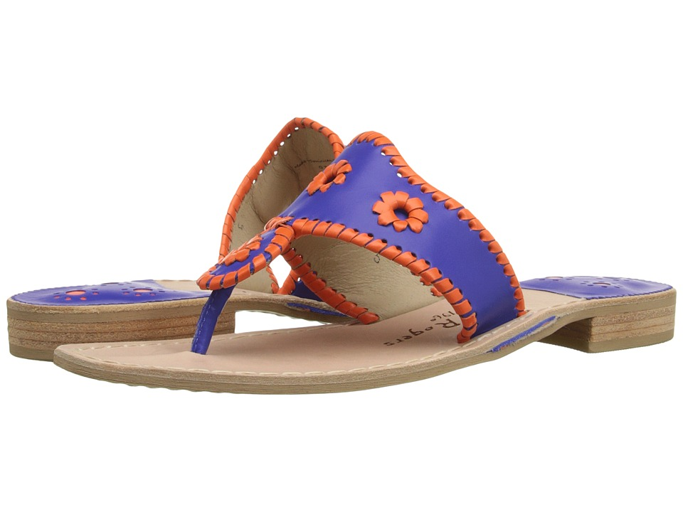 Jack Rogers - Spirit (Blue/Orange) Women's Shoes