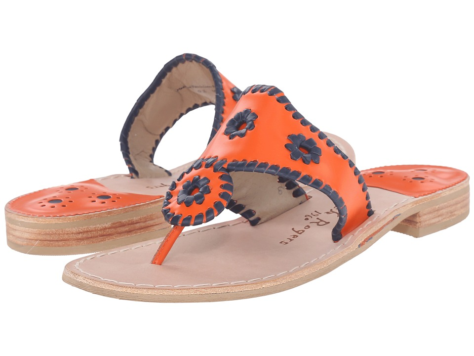 Jack Rogers - Spirit (Orange/Midnight) Women's Shoes