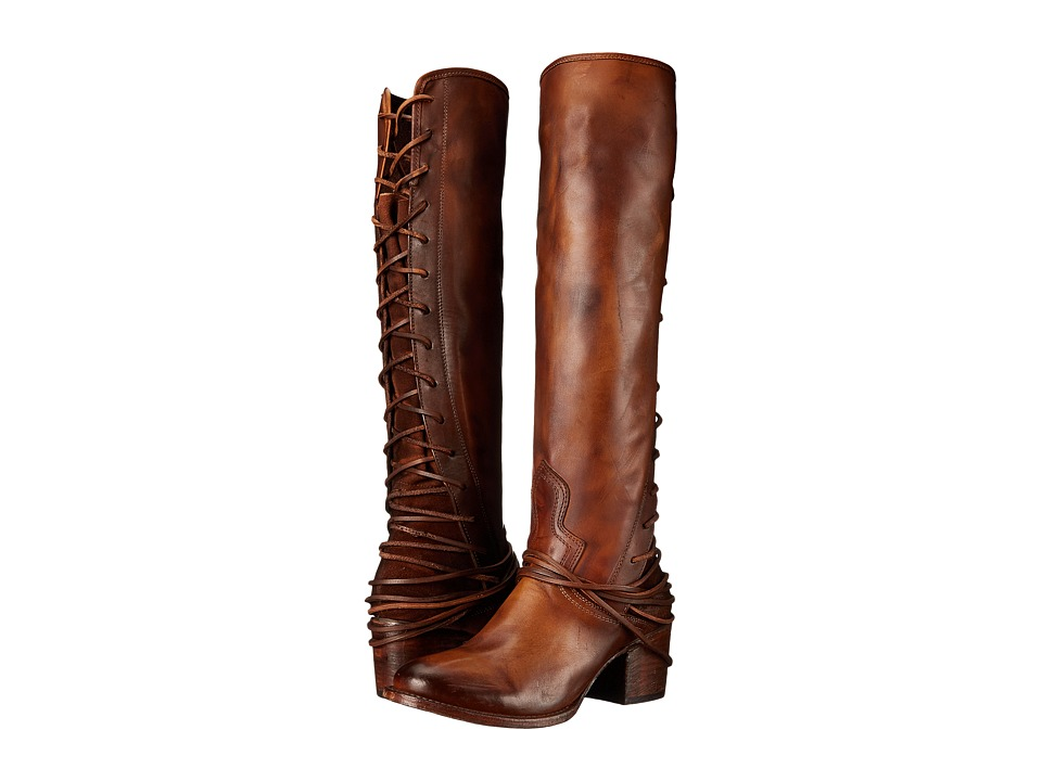 Freebird Coal (Tan) Cowboy Boots