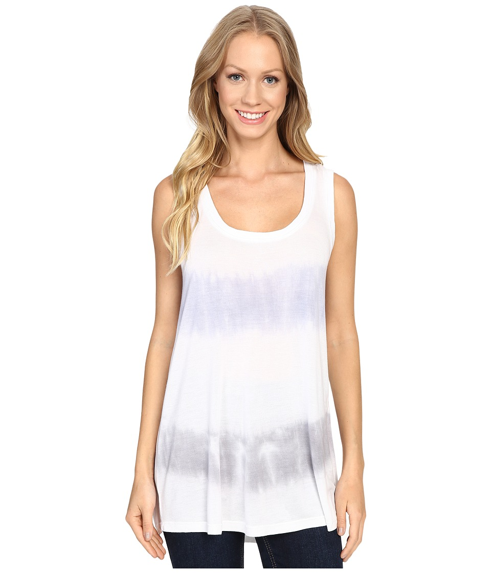 Allen Allen - Tie-dye Summer Tank Top (Alpine/Pale Grey) Women's Sleeveless