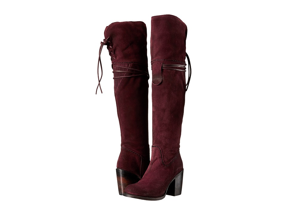 Freebird Brock (Wine Suede) Women