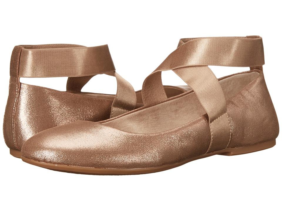 Jessica Simpson - Mariza (Sandbar/Gold) Women's Flat Shoes