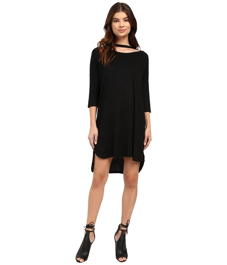 Culture Phit - Arbor Dolman Sleeve Dress (Black) Women's Dress