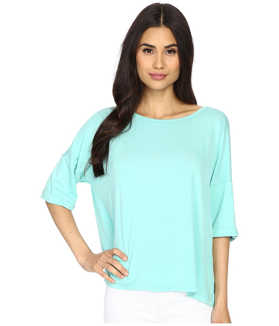 Culture Phit - Affinity 3/4 Sleeve Comfy Top (Seafoam) Women's Clothing