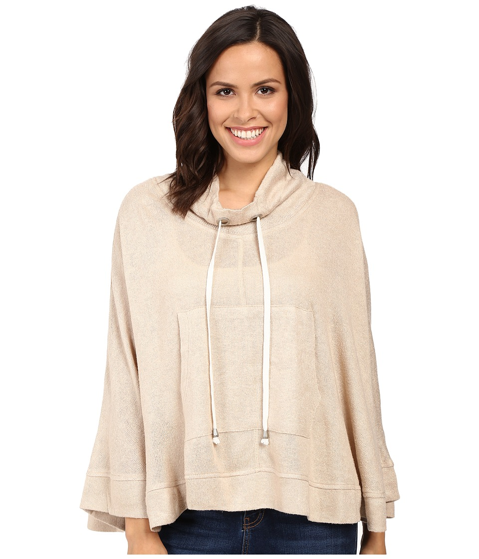 Culture Phit - Catalpa Poncho (Beige) Women's Clothing