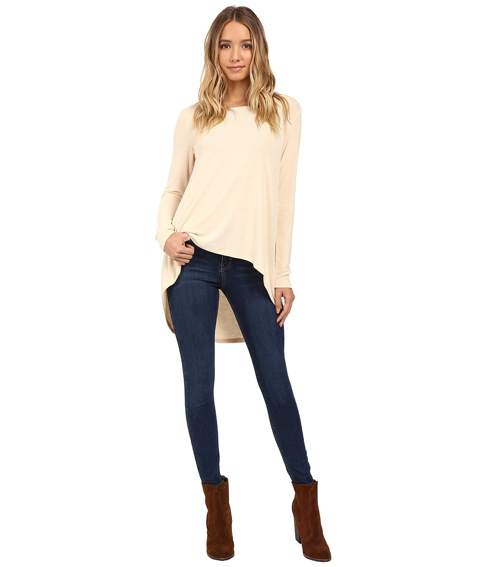 Culture Phit - Cassia High-Low Top (Vanilla) Women's Clothing