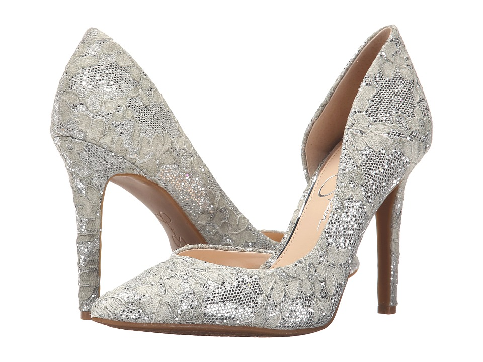 Jessica Simpson - Claudette (Fairy Glitter Lace) High Heels