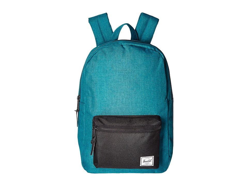 Herschel Supply Co. - Settlement Medium (Petrol Crosshatch/Black) Backpack Bags